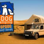3DOG Camping - Barracas de Teto TopDog
