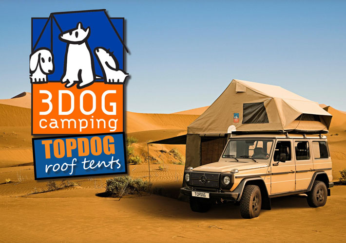 3DOG Camping – TopDog Roof Tents