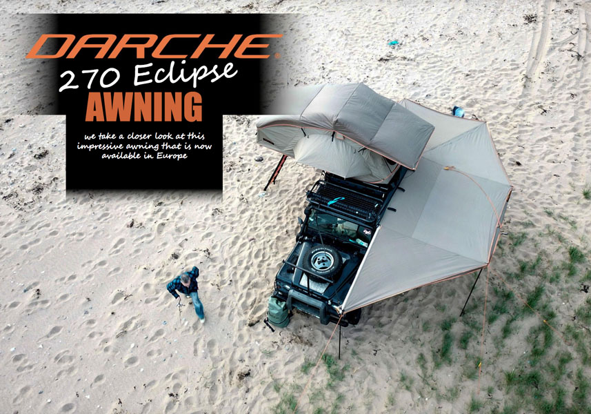 The DARCHE 270 Eclipse Awning –  now available in Europe