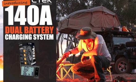 Aurkeztu CTEK 140A Dual Bateria Kargatzeko Sistema