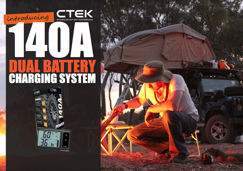 Introducing CTEK 140A Dual Battery Charging System