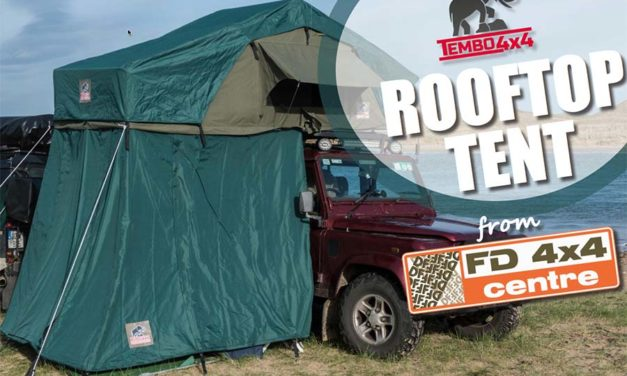 Tembo 4×4 Rooftop Tent from FD 4×4 Centre