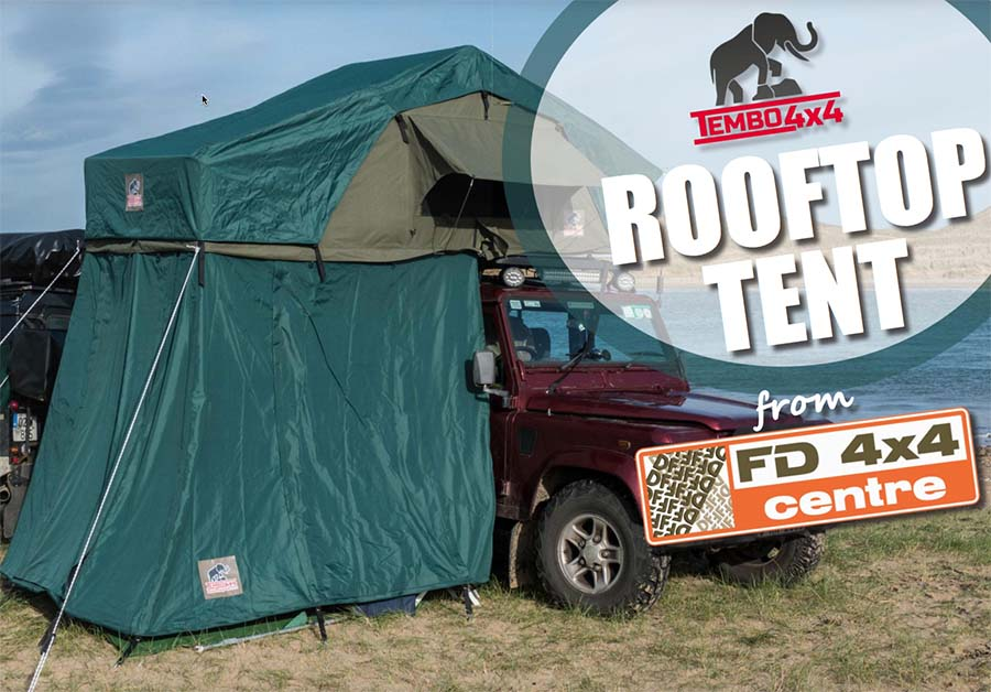 Tembo 4 × 4 Rooftop Tent from FD 4 × 4 Center