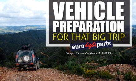 Fahrzeugvorbereitung für diese große Reise mit euro4x4parts