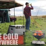 Eiskalt überall - der Snomaster Tragbarer Kühlschrank mit Gefrierfach (SnoMaster SMDZ-CL56D)