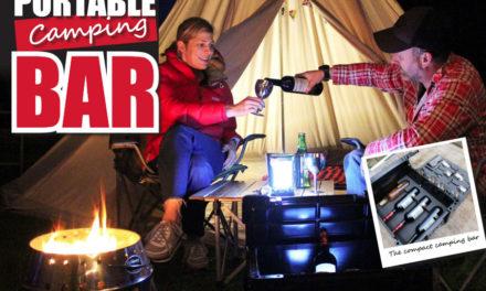 Draagbare campingbar