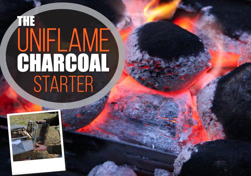 Die Uniflame Charcoal BBQ-voorgereg