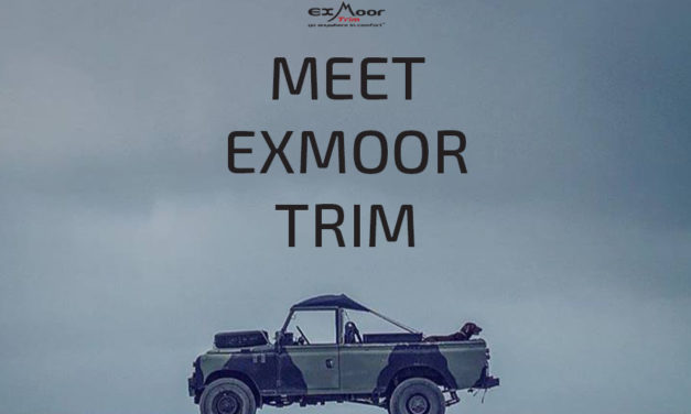 Exmoor Trim- Go Anywhere in Comfort. Land Rover Canvaskappen en voertuigbekleding