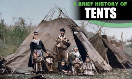 Een korte geschiedenis van tenten - waar kwamen tenten vandaan? De geschiedenis van tenten.
