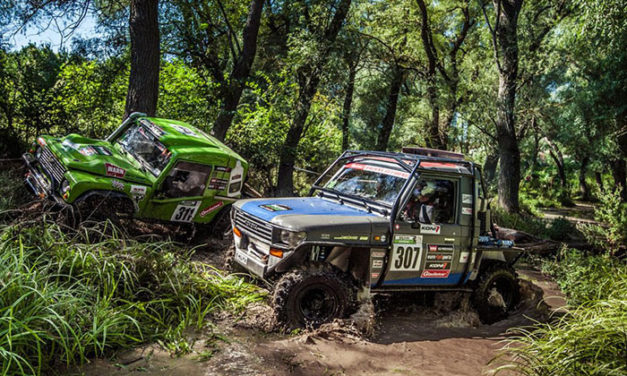 De Balkan Offroad Rally is op dit moment (15-22nd September)
