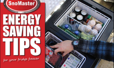 SnoMaster Energy Saving Tips for your fridge freezer. Tips for using a portable fridge freezer.