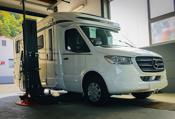 IGLHAUT Allrad reveal the IGLHAUT Allrad Mercedes Benz Sprinter 416 CDI Hymer ML 580 at the IAA Expo