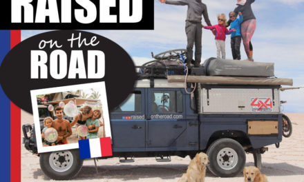Raised on the Road – a young french family tour the world