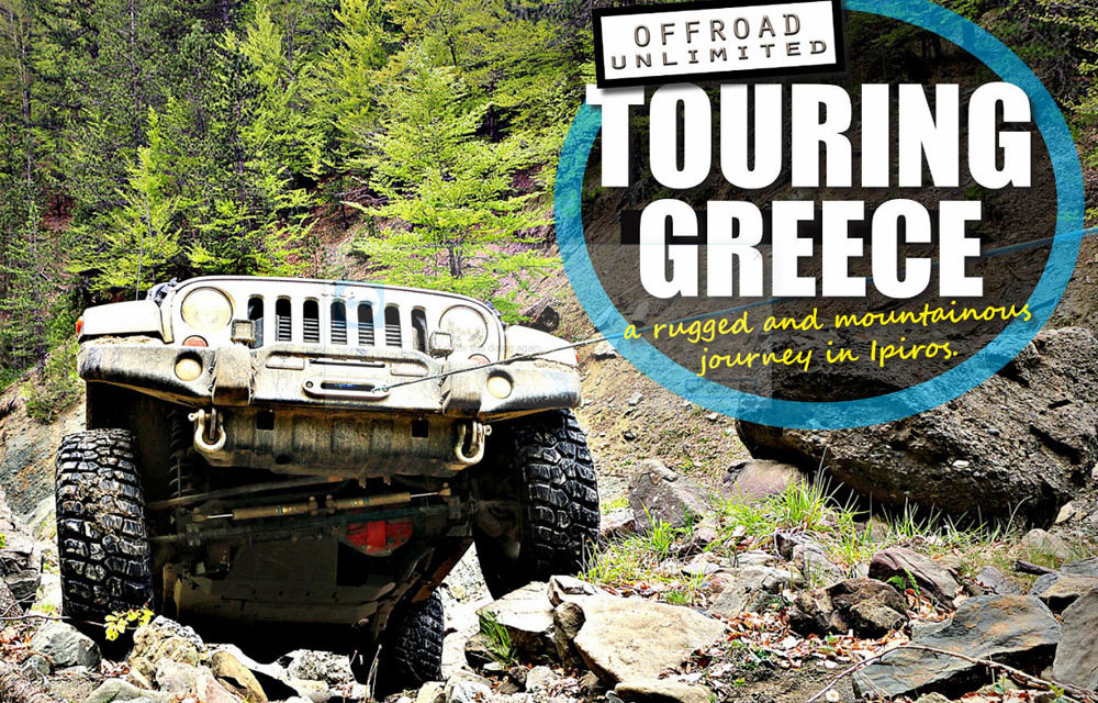 4 × 4 Offroad Touren in Griechenland mit Offroad Unlimited