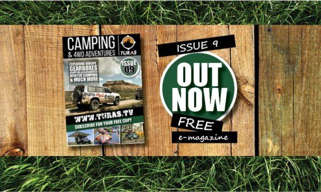 Turas Camping en 4WD Adventures Magazine - Nummer negen