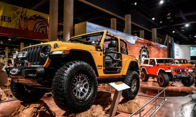 Vier neue Jeep-Fahrzeuge auf der SEMA 2018 vorgestellt