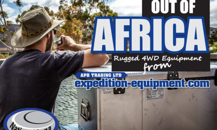 Out of Africa - National Luna Rugged 4WD Equipment uit APB Trading Ltd. Expeditiemateriaal.