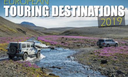 Euroopan 4WD Touring -kohteet