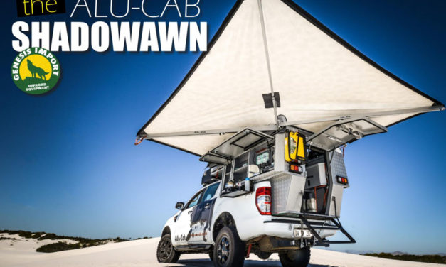 The Alucab Shadowawn 4WD Awning