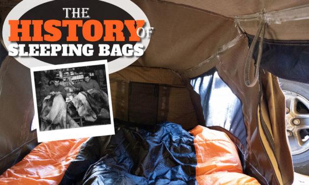 Die Geschichte der Schlafsäcke