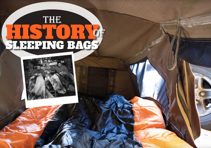 The History of Sleeping Bags