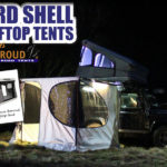 Tenda Hard Shell Rooftop dengan James Baroud
