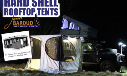 Hard Shell Rooftop Tents with James Baroud