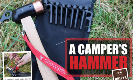 A Camper's Hammer – the Snowpeak Copper Head Hammer