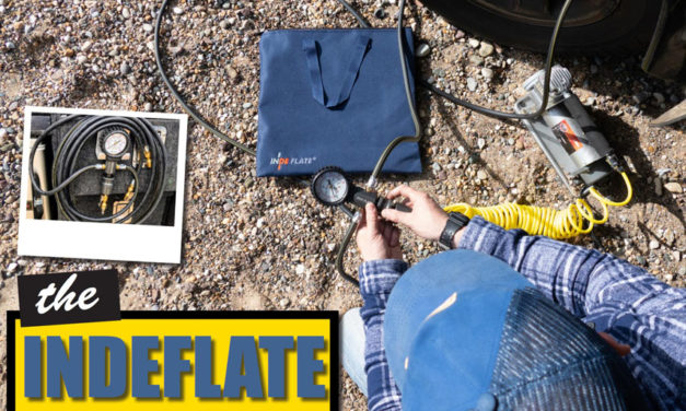 Indeflate on helppo tapa täyttää ja tyhjentää renkaat