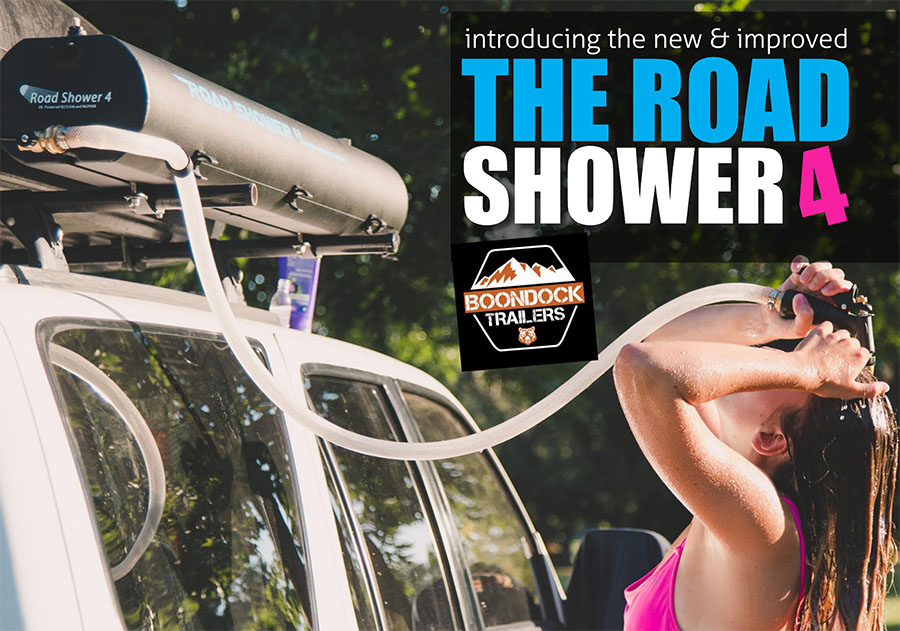 Introducing the New and Improved Road Shower 4