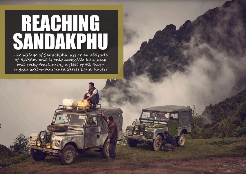 Sandakphu'ya ulaşmak - 'Kara Rovers Ülkesi' olarak da bilinen Hint Himalaya bölgesi