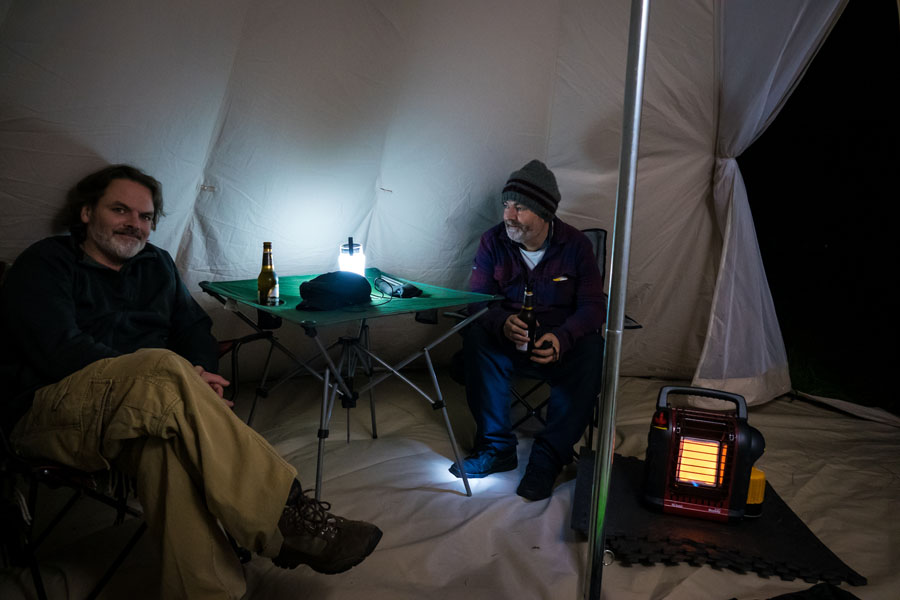 Mr  Heater Portable Tent Heaters for Winter Camping - www