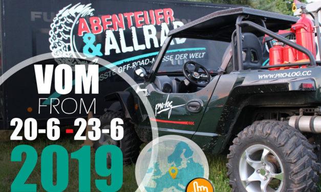 Abenteuer & Allrad- Maailman suurin retkeily- ja neliveto-näyttely järjestetään tänä vuonna 4.-20. Kesäkuuta.