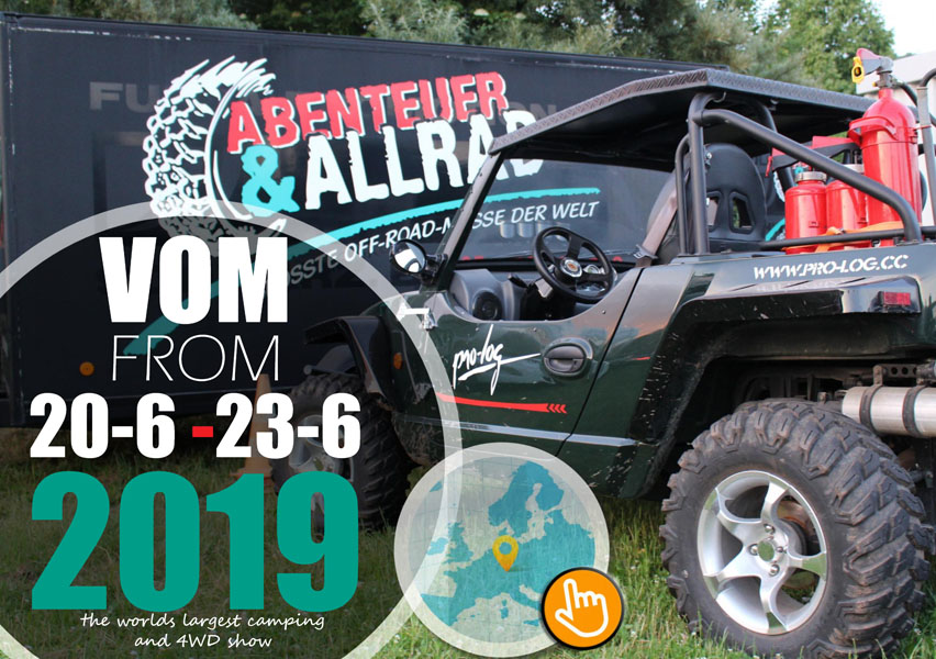 Abenteuer & Allrad- The world's largest camping and 4WD show takes place this year from 20th to 23rd June.