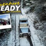 Prêt pour l'aventure en minutes 40 avec les tentes à coque dure James Baroud