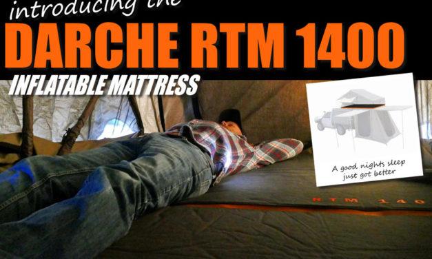 Esittelyssä Darche RTM 1400 puhallettava patja