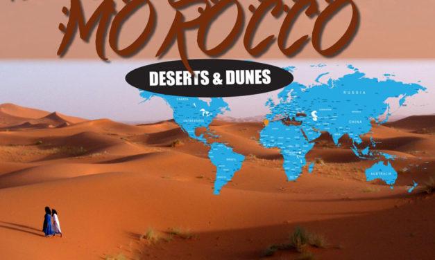 Kiertoajelu Marokossa - autiomaa ja dyynit Kudu Overlandin kanssa