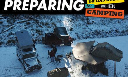 Kamperen in de winter - voorbereiden op koud weer tijdens kamperen