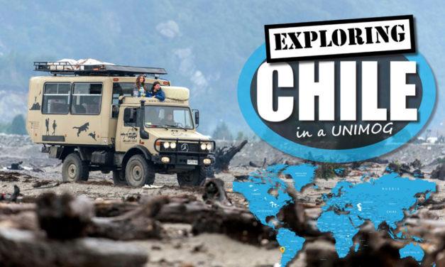 Chilen tutkiminen Unimog - 4WD -touringilla