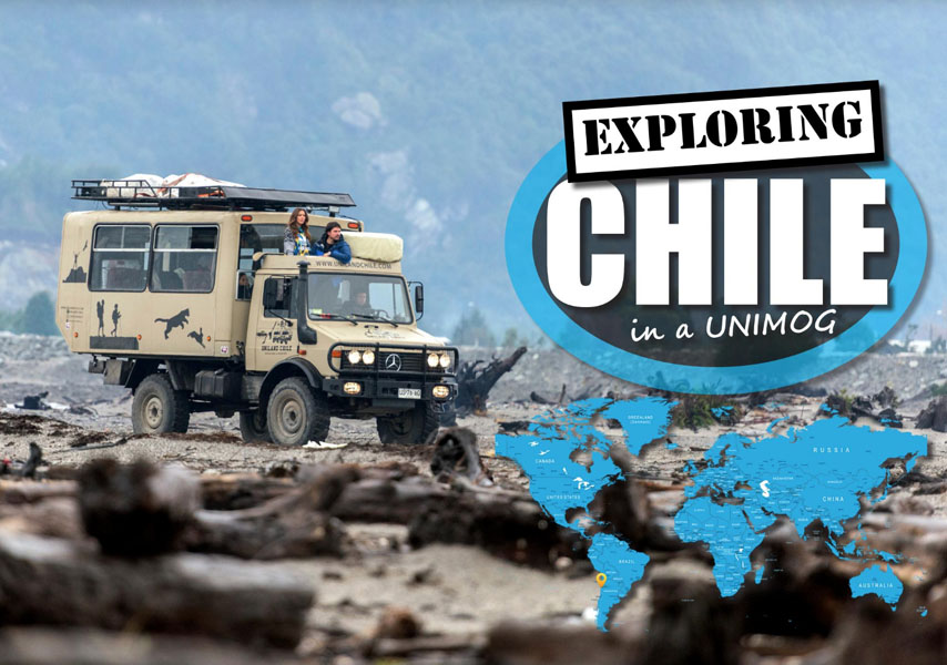 Chili verkennen in een Unimog - 4WD Touring
