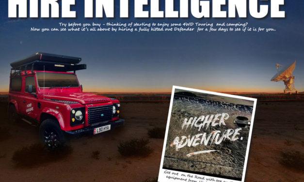 Hire Intelligence- Probeer voordat je koopt - Ervaar een volledig uitgeruste Touring Defender.