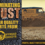 Eliminate Rust with High Quality Defender Hinges from Offroad Monkeys