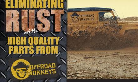 Elimineer Rust met hoogwaardige Defender-scharnieren van Offroad Monkeys