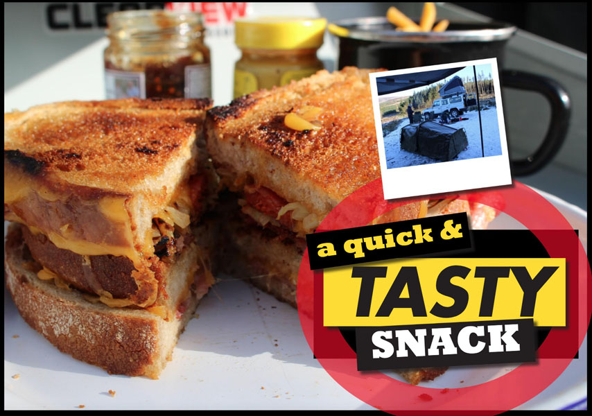 A Quick and Tasty Snack – delicious toasted sandwich ideas for camping