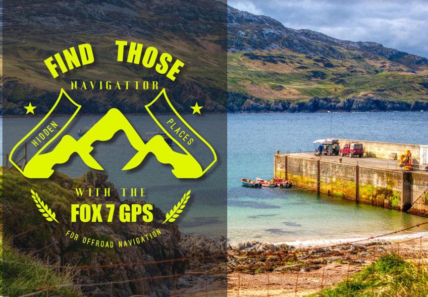 Zoek die verborgen plaatsen met de FOX 7 GPS voor off-road navigatie