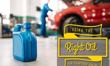 Using the right oil for your engine