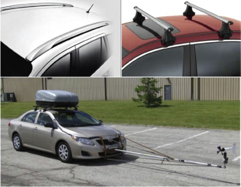 Wind Drag - how aerodynamic is your roof rack setup? - www turas tv