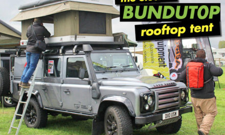 The Electric Bundutop Roof Top Tent