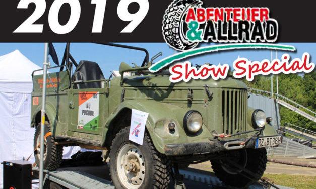 2019 Abenteuer & Allrad ਵਿਸ਼ੇਸ਼ ਦਿਖਾਓ