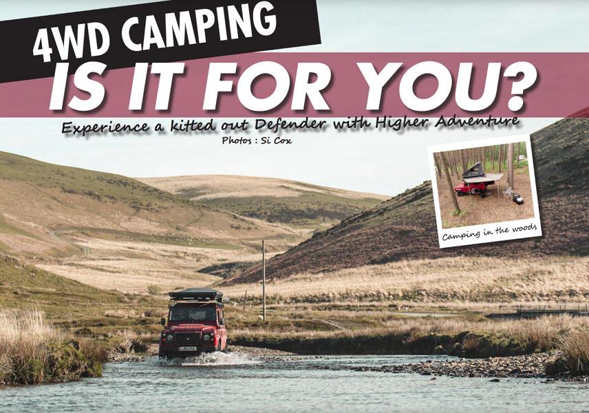 4WD Camping - is het iets voor jou?